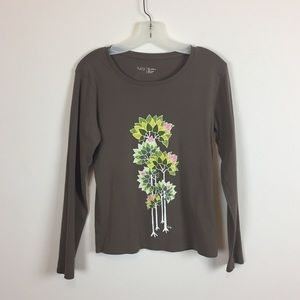 Lucy brown top